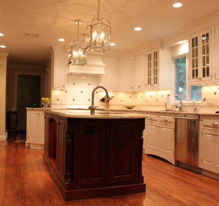 Sunrise carpentry home remodeling additions and home for Kitchen cabinets yorktown ny